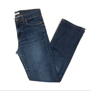 J Brand The Straight Leg Jeans - pure wash - 27